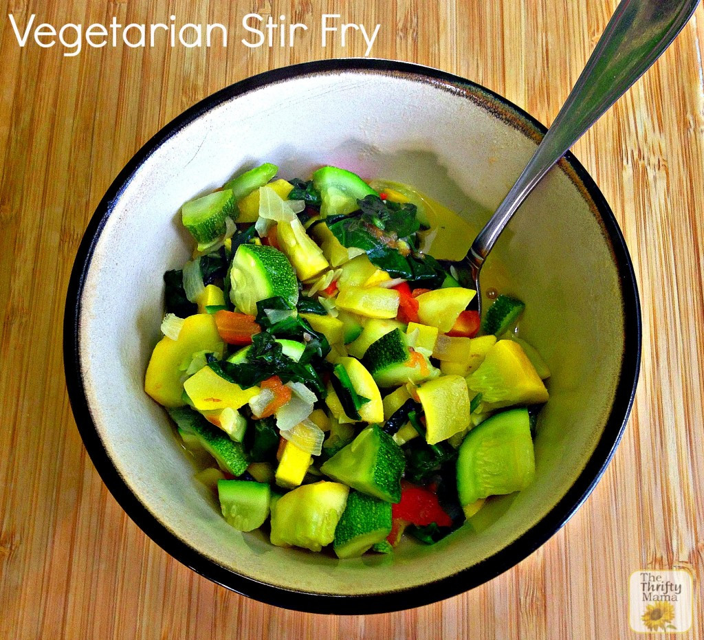 Vegetarian Fall Recipes  Fall Recipe Ve arian Stir Fry Natural Thrifty