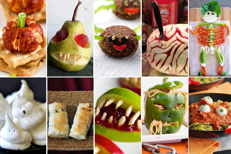 Vegetarian Halloween Recipes  10 Best Spooky Ve arian & Vegan Halloween Recipes