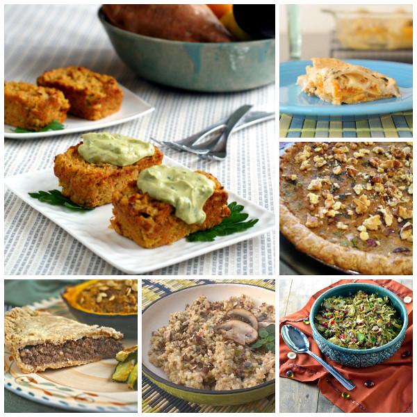 Vegetarian Thanksgiving Food  Candida t sugar free gluten free vegan healthy