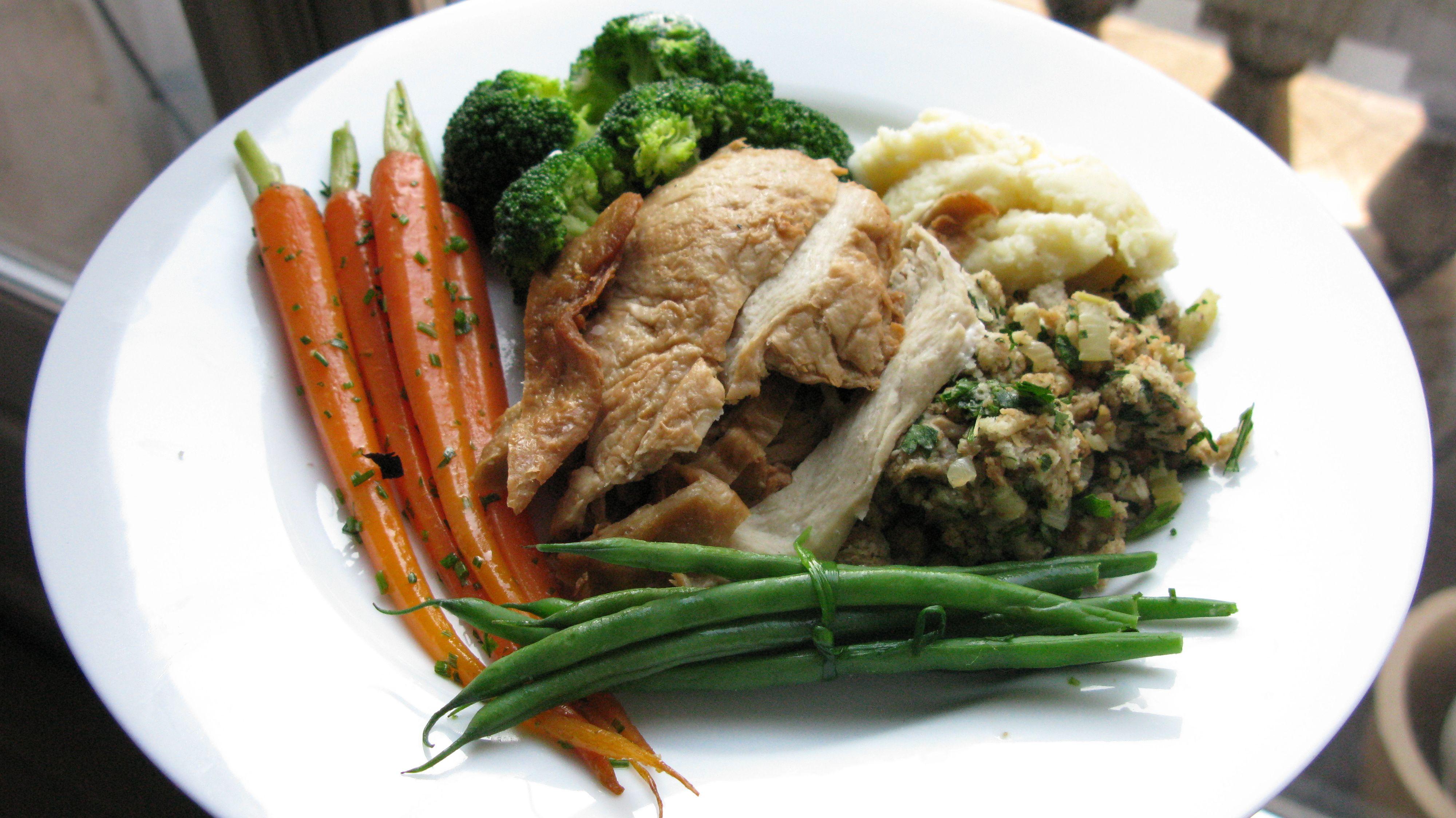 Vegetarian Thanksgiving Protein  Vegan Thanksgiving Plate
