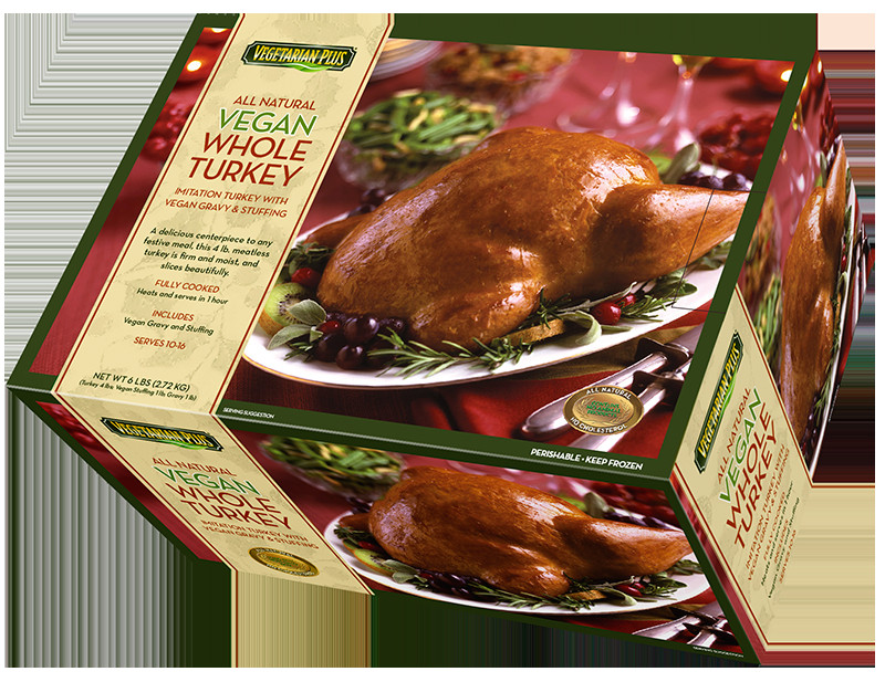 Vegetarian Thanksgiving Protein  Vegan Whole Turkey
