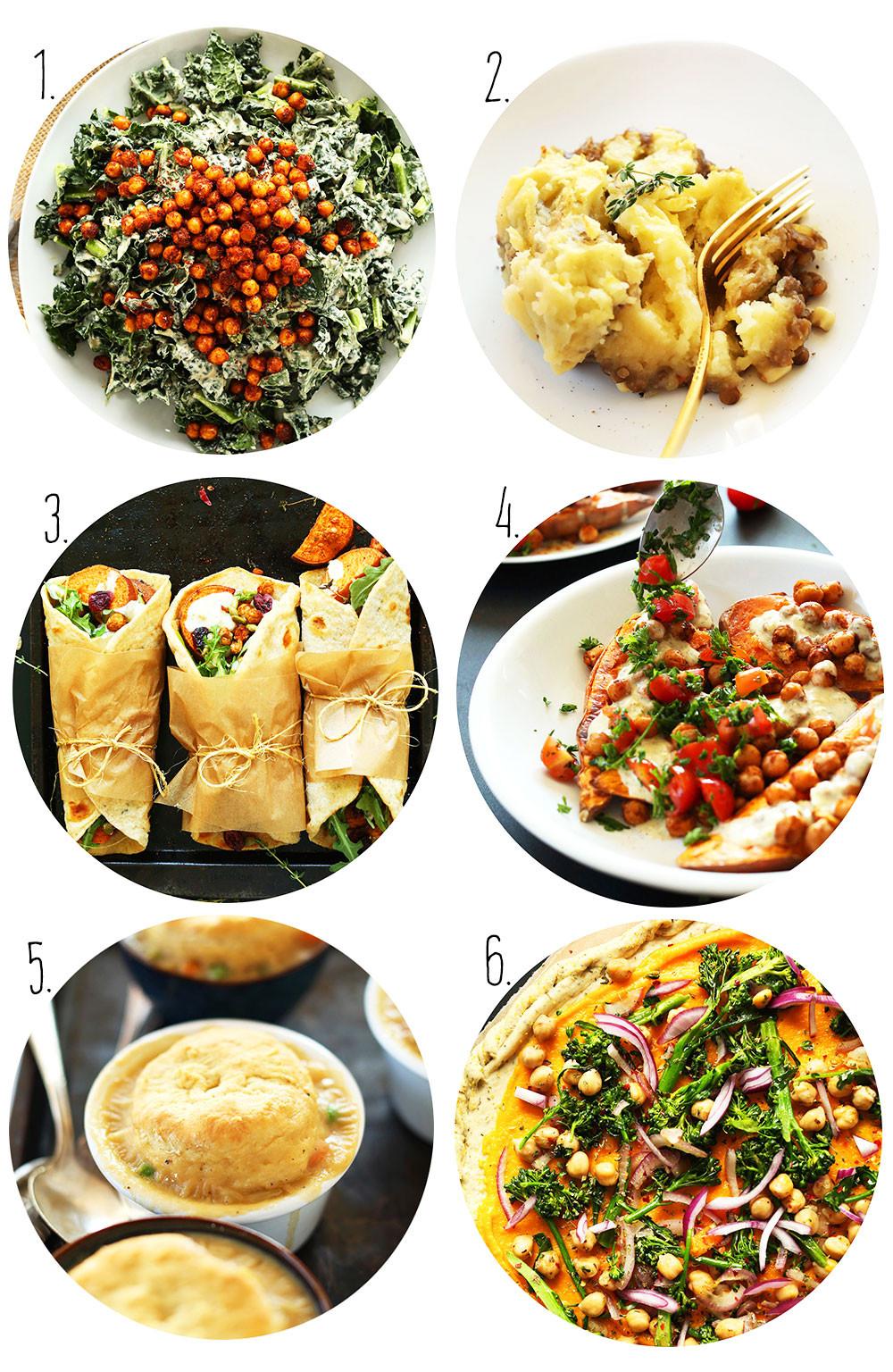 Vegetarian Thanksgiving Protein  Vegan Thanksgiving Recipes