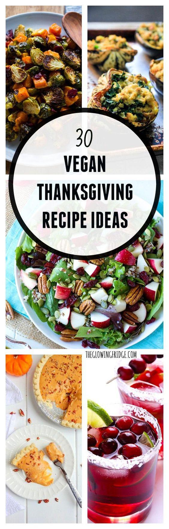 Vegetarian Thanksgiving Recipes Main Dish  30 Vegan Thanksgiving Recipe Ideas