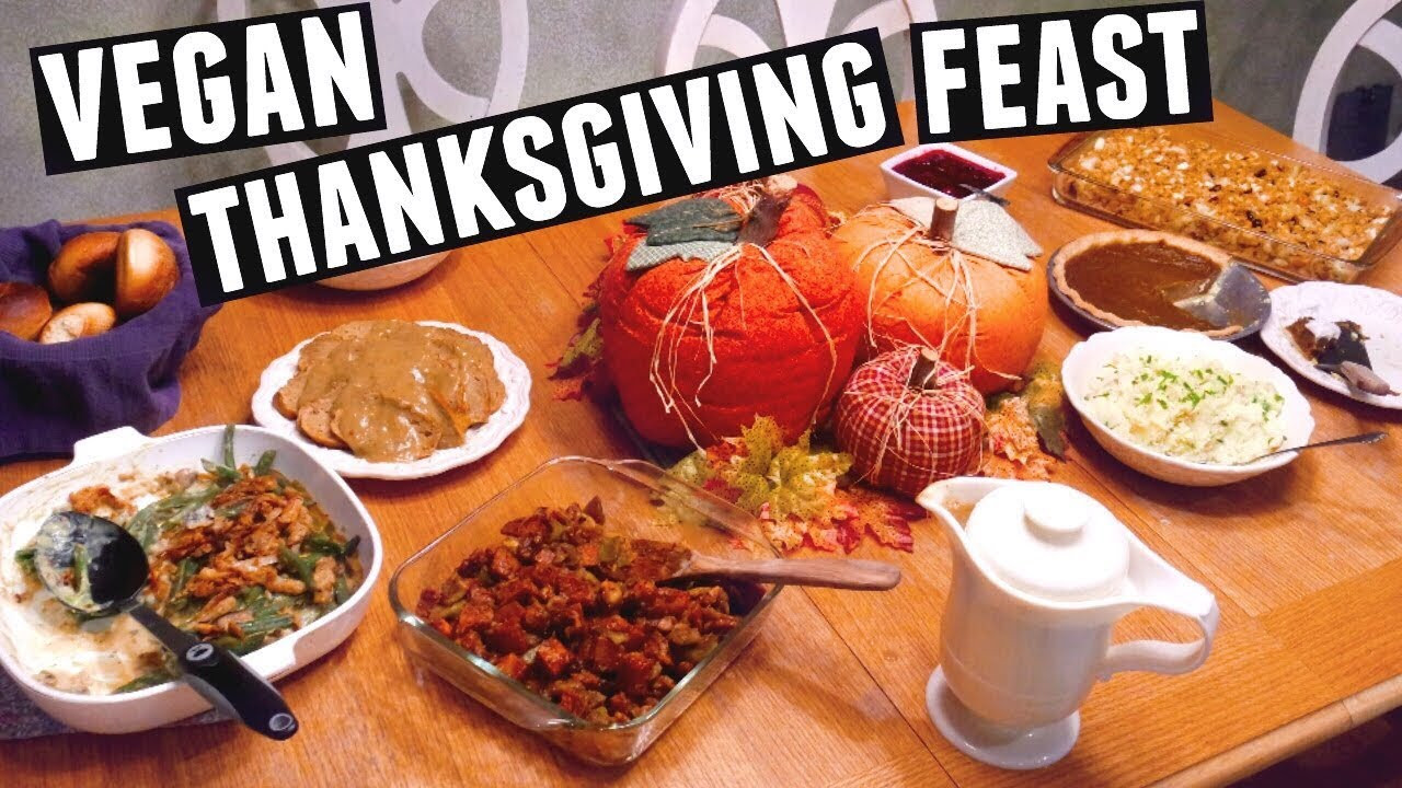 Vegetarian Turkey For Thanksgiving  GUIDE TO A VEGAN THANKSGIVING HOLIDAY FEAST 2016