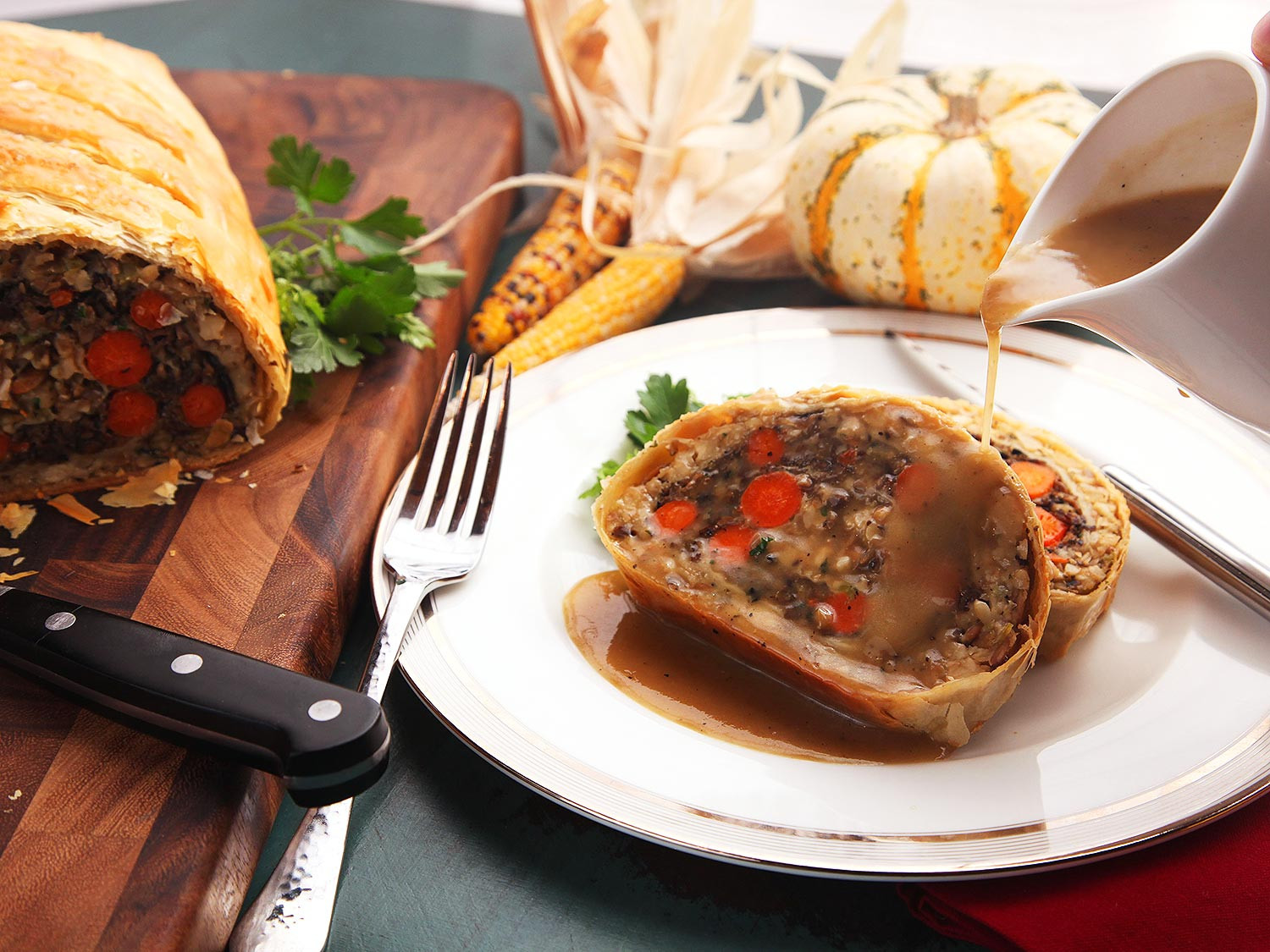 Vegetarian Turkey For Thanksgiving  The Food Lab Introducing Ve ables Wellington the Plant