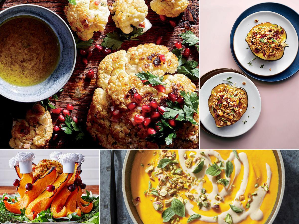 Vegetarian Turkey For Thanksgiving  Vegan Thanksgiving Menu Recipes and Ideas Cooking Light