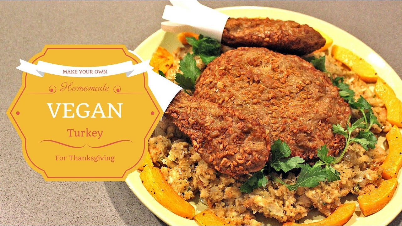 Vegetarian Turkey For Thanksgiving  HOW TO Make delicious ve arian turkey for Thanksgiving