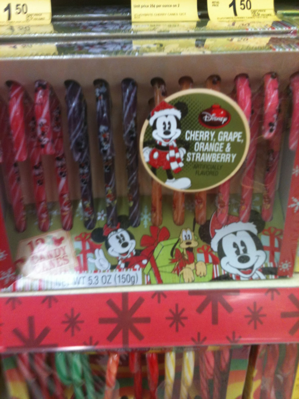 Walgreen Christmas Candy  I m Your Fairy Godmother Disney Christmas Goo s at