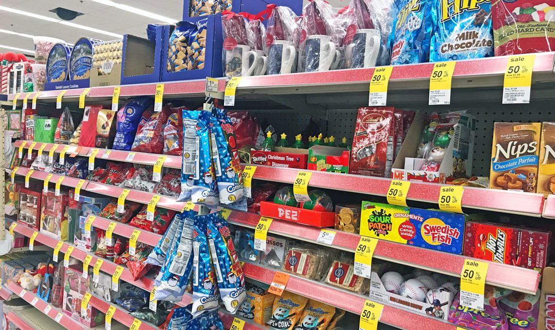 Walgreens Christmas Candy  Christmas Clearance f at Walgreens The Krazy