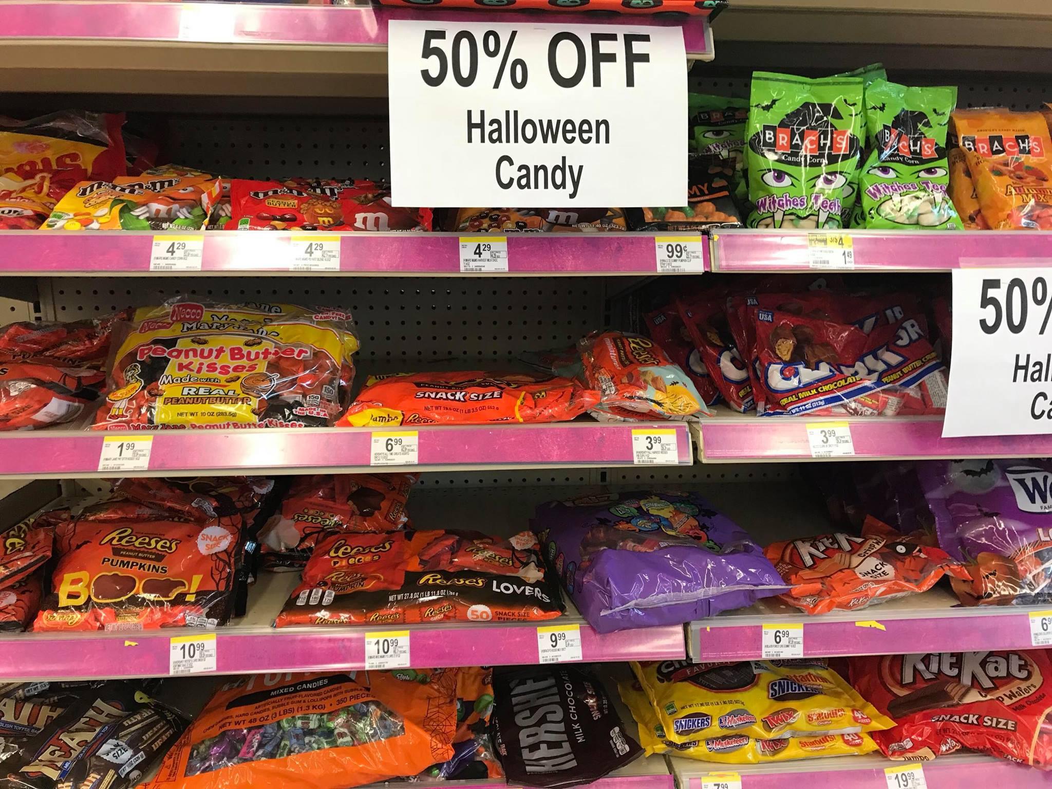 Walgreens Christmas Candy  Walgreens off Halloween Candy & Decor