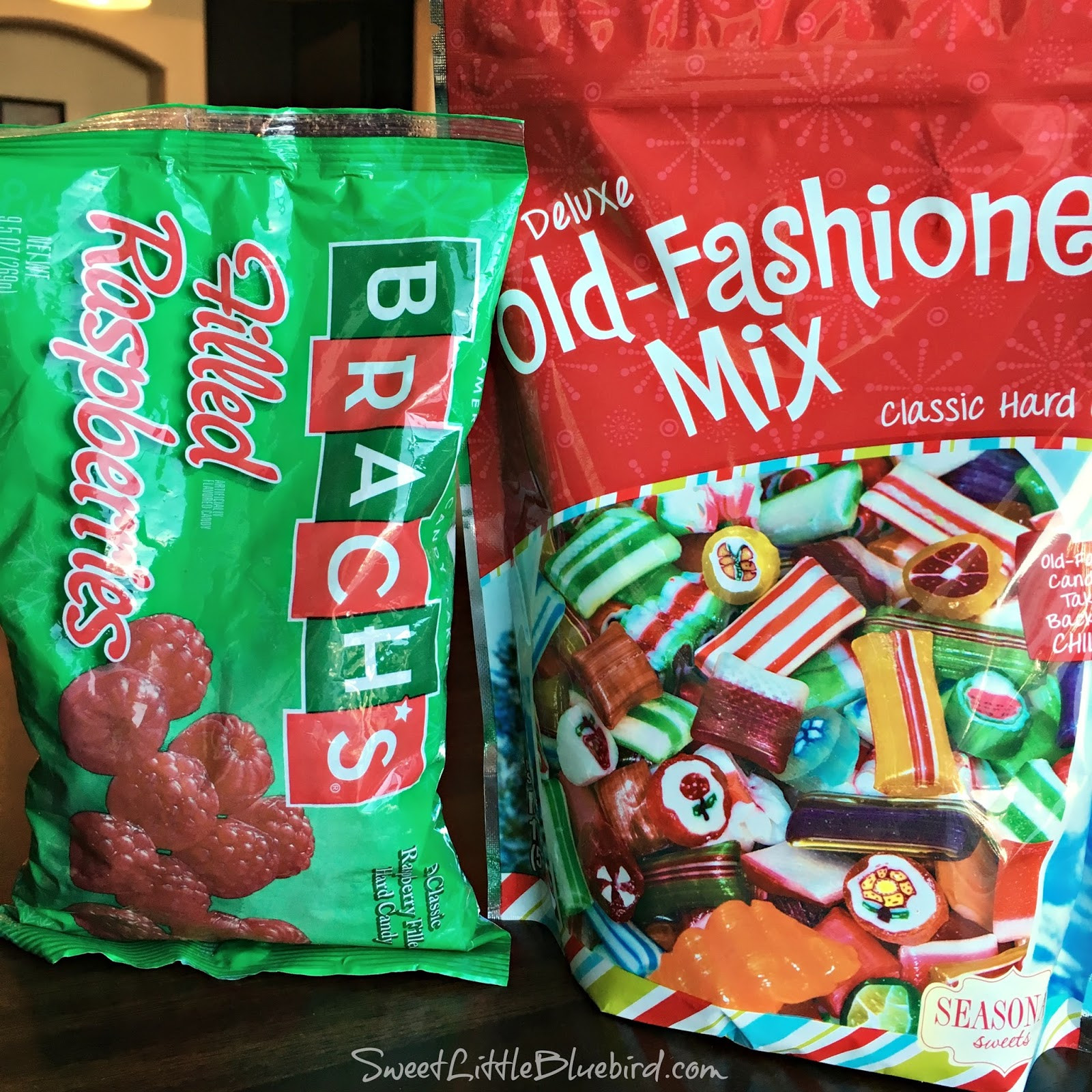 Walgreens Christmas Candy  Sweet Little Bluebird Old Fashioned Holiday Christmas Candy