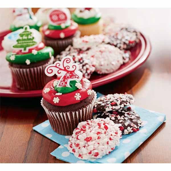 Walmart Christmas Cookies  Chocolate Peppermint Cookies or Christmas Cupcakes 12 Pack