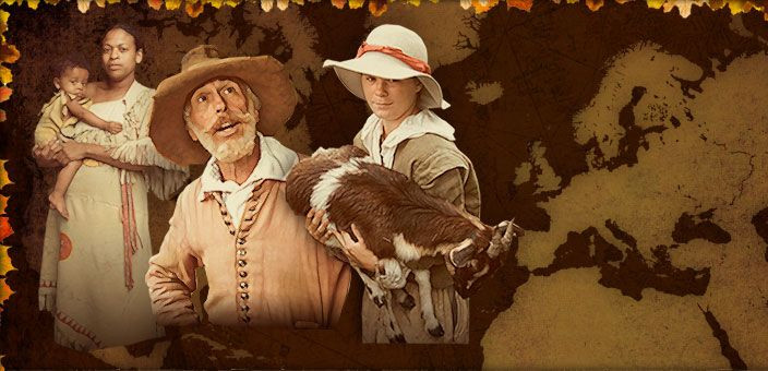 Was There Turkey At The First Thanksgiving  130 best images about Colonial America on Pinterest