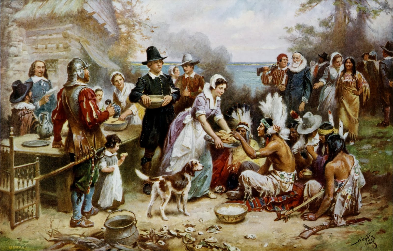 Was There Turkey At The First Thanksgiving  History of the First Thanksgiving World History