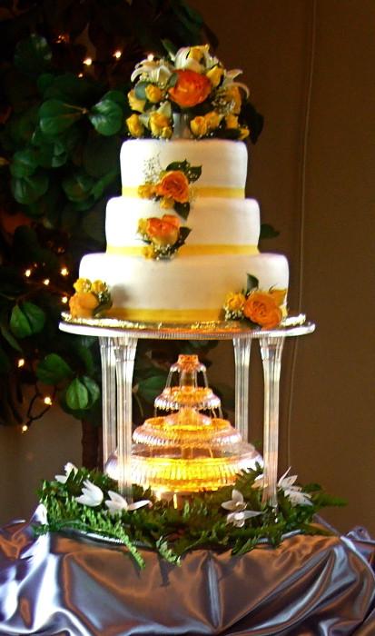 Waterfall Wedding Cakes  Waterfall Wedding Cake My Tucson Wedding