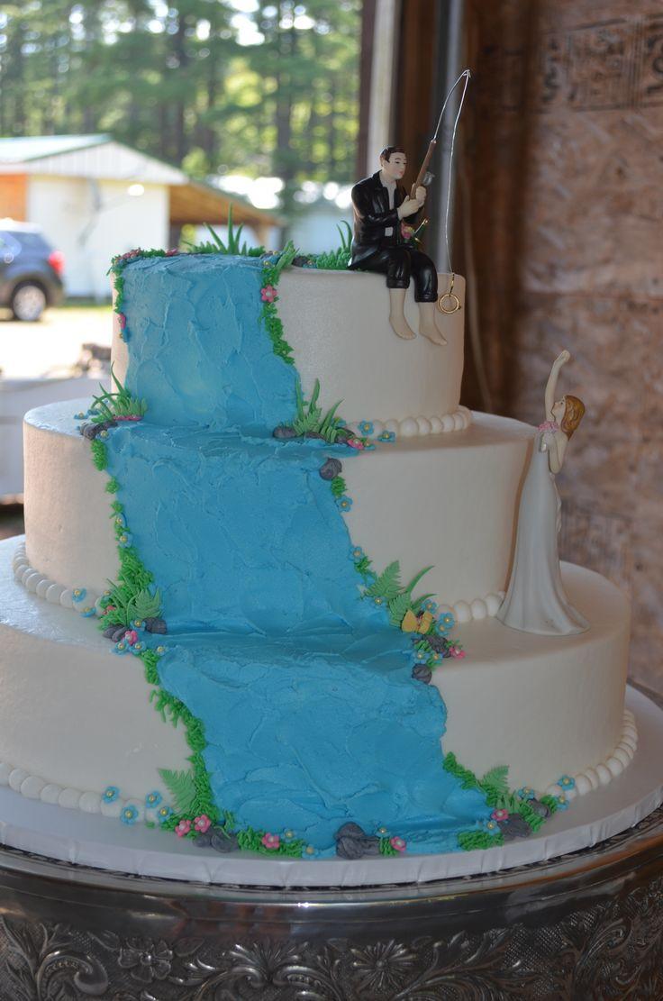 Waterfalls Wedding Cakes  Waterfall wedding cake My Cakes