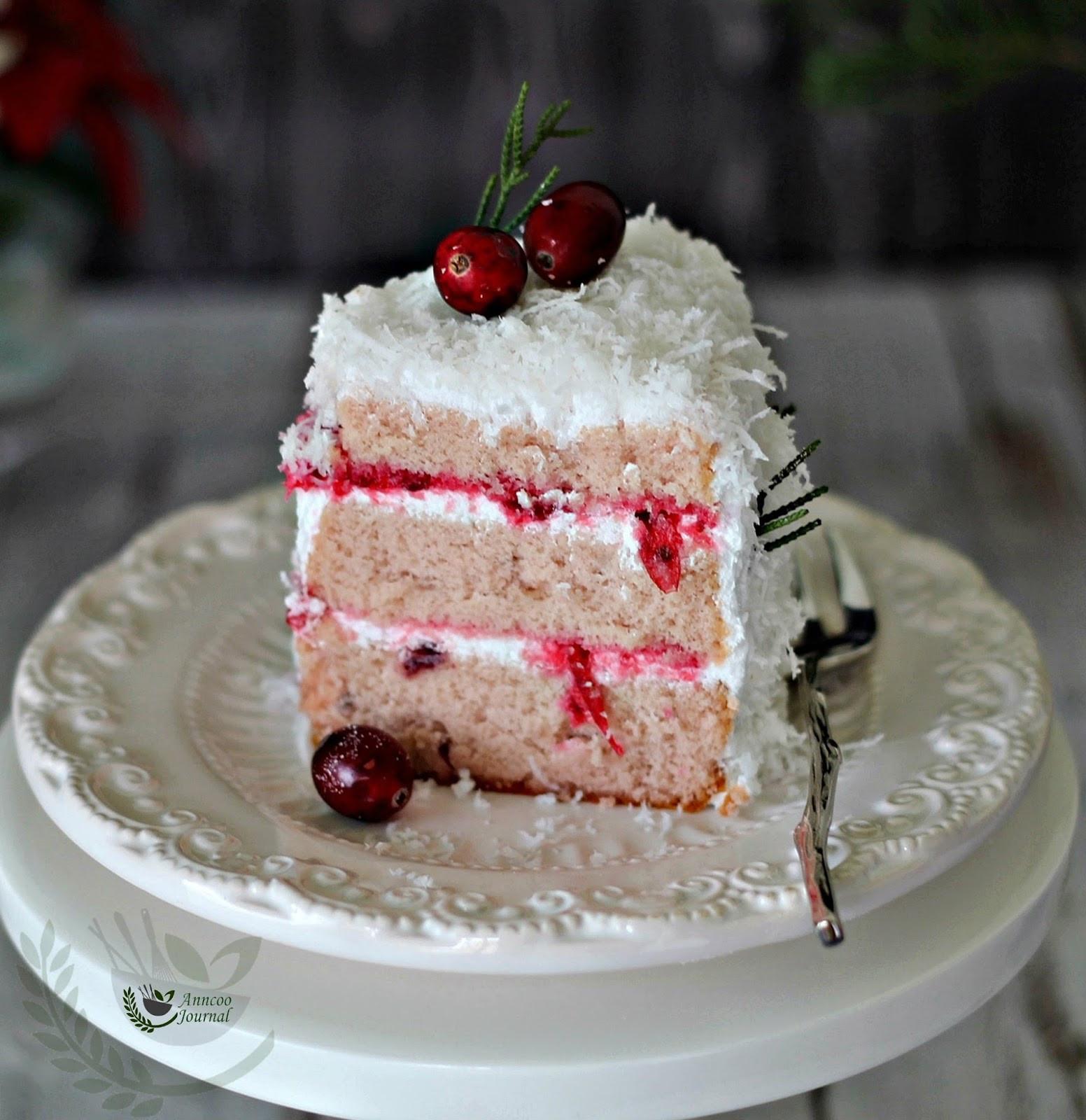 White Christmas Cake  White Christmas Cake 白色圣诞蛋糕