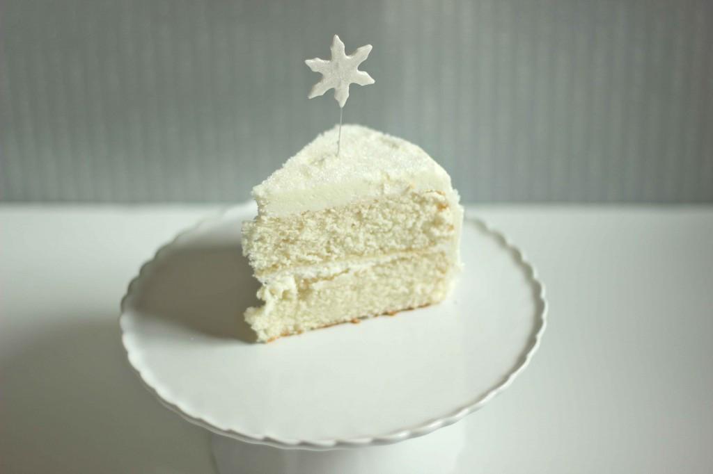 White Christmas Cake  White Christmas Cake