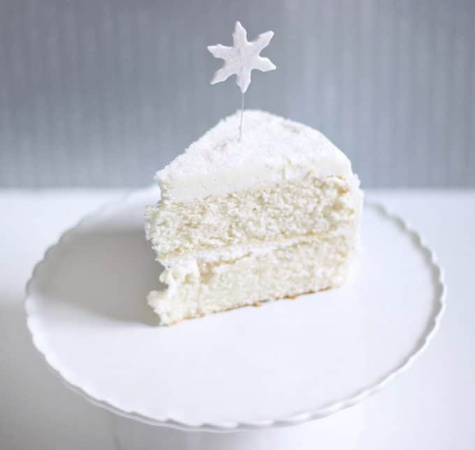 White Christmas Cake  White Christmas Cake Recipe for the Holiday Chef Dennis