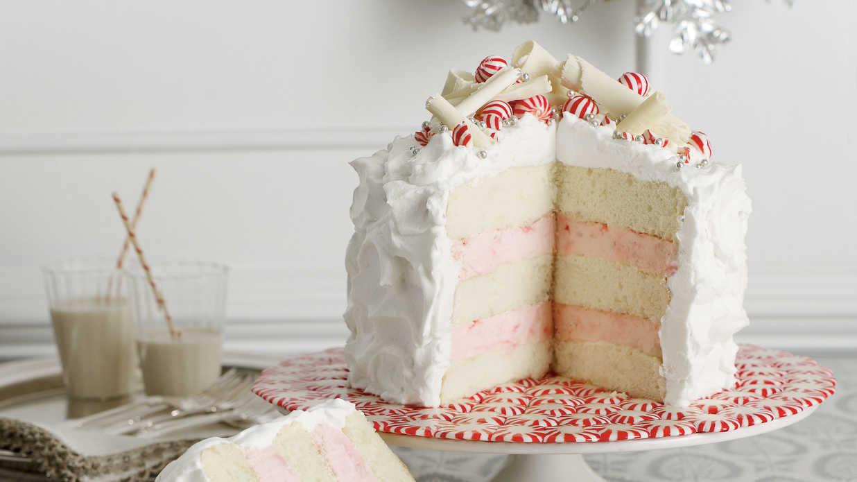White Christmas Cake  Winning White Christmas Cake Recipes Southern Living