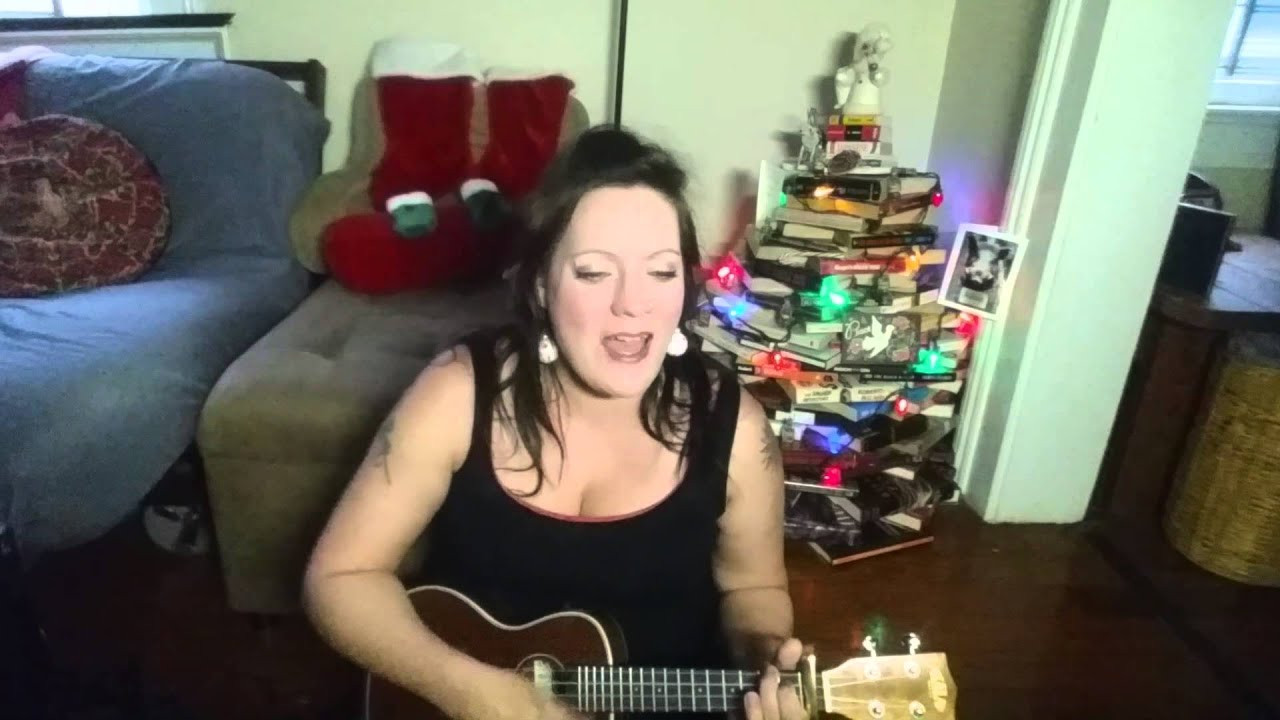 Youtube Dolly Parton Hard Candy Christmas  Hard Candy Christmas Dolly Parton Ukulele Cover by Sally