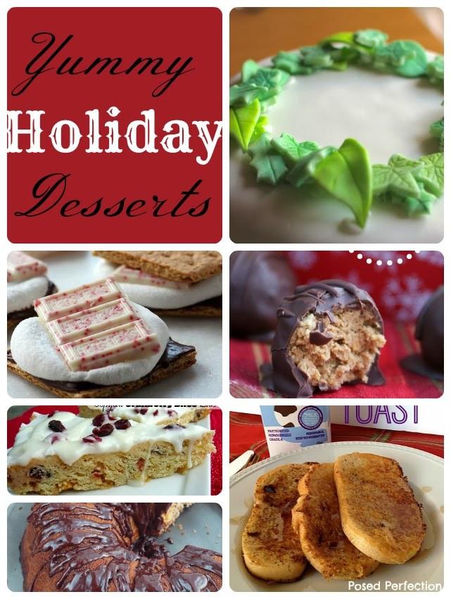 Yummy Christmas Desserts  Yummy Holiday Desserts Life Sew Savory